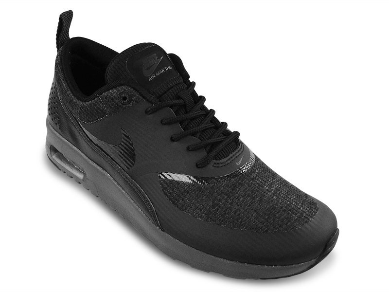 Nike WMNS Air Max Thea Premium 616723 004 Black/Black-Anthracite Womens Sneakers