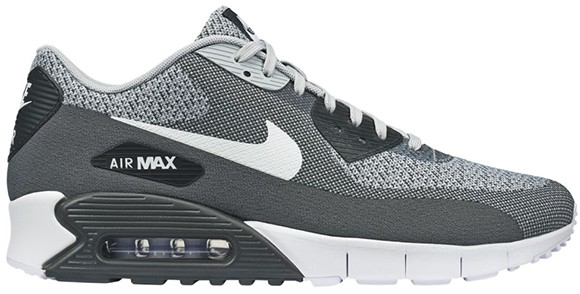 Nike Air Max 90 Jacquard Pack Shoes Wolf Grey Pure Platinum