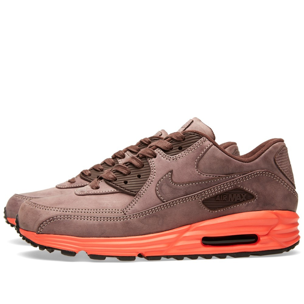 Nike Air Max Lunar 90 LTR QS Burnished Mahogany 705001-200 Shoes