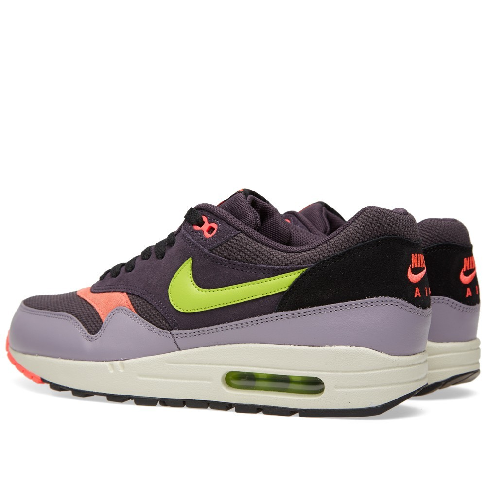 nike air max 1 grey pink green
