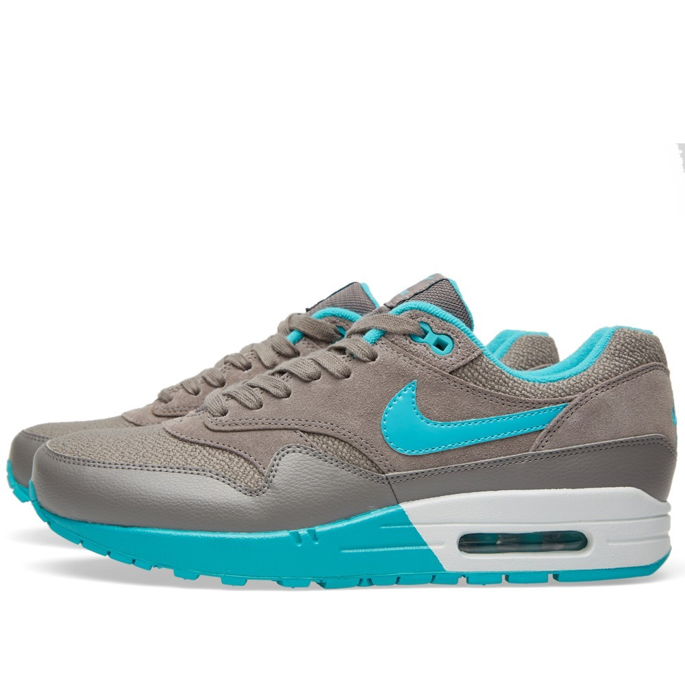 Nike Air Max 1 Shoes 319986-203 Light Ash Blue