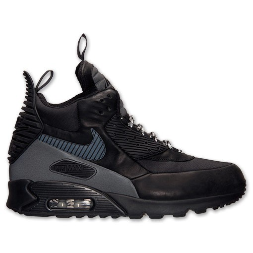 Nike Air Max 90 Sneakerboot Winter Pack 684714 001 Black Magnet Grey Photo Blue Men's Shoe
