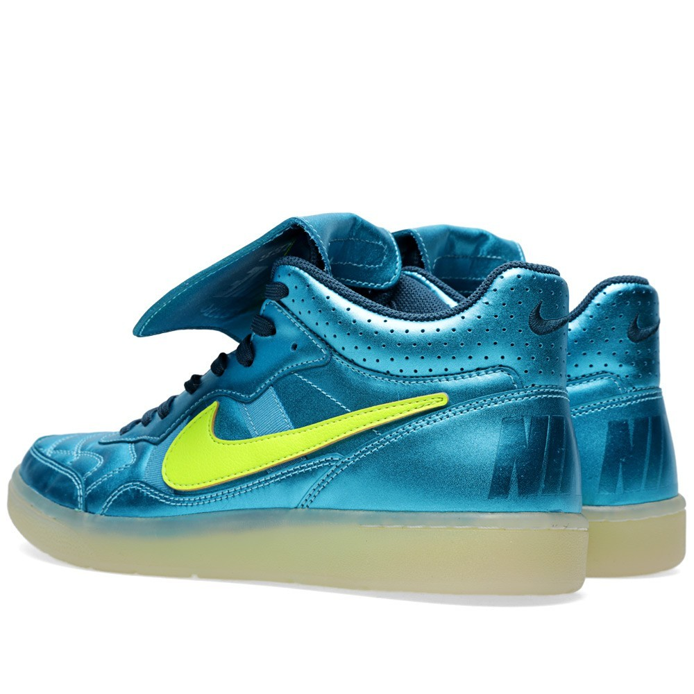 Nike Tiempo '94 Mid NSW Quickstrike HP QS 667544-401 Space Blue Volt Trainers
