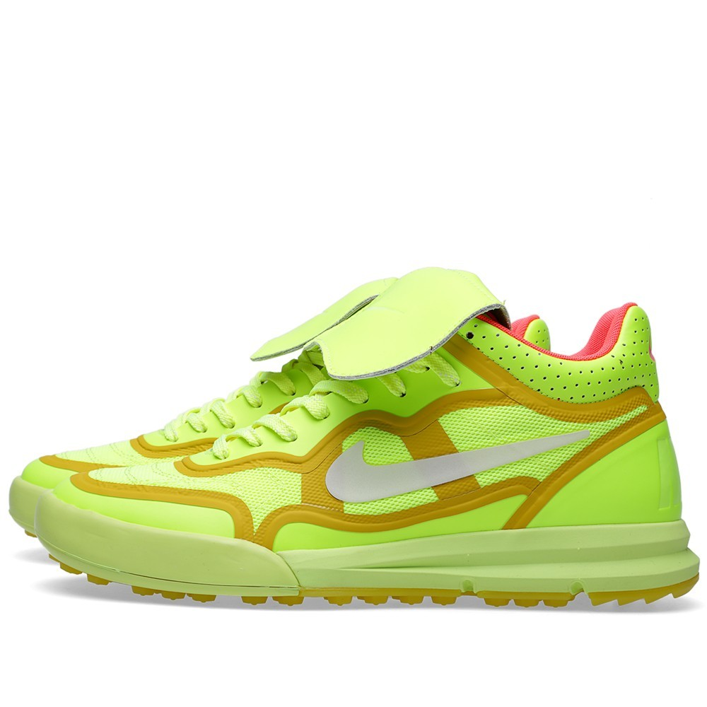 Nike NSW Tiempo 94 Lunar Mid TP QS 677457-700 Volt Trainers