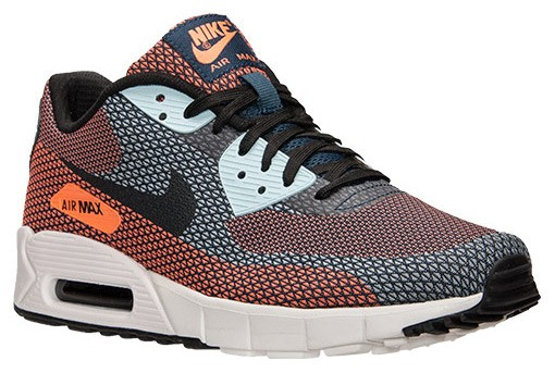 Nike Air Max 90 Jacquard Squadron Blue Atomic Orange Men's / Womens Shoe