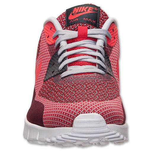 Nike Air Max 90 Jacquard 631750 601 Gym Red Light Crimson Wolf Grey Men's / Womens Shoe