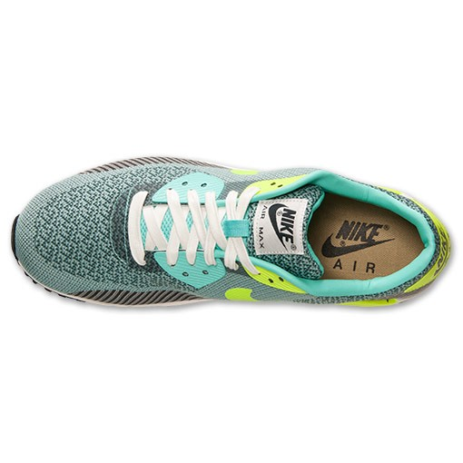 Nike Air Max 90 Jacquard Premium 669822 300 Hyper Turquoise Volt Ivory Anthracite Men's / Womens Shoe