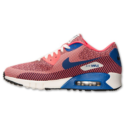 Nike Air Max 90 Jacquard (JCRD) Premium 669822 600 Hyper Punch White Game Royal Men's Shoe
