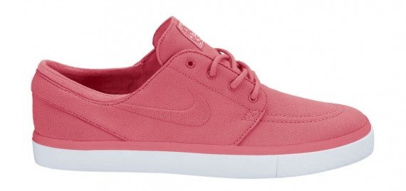 Nike SB Stefan Janoski Canvas 333824-661 Atomic Red White Sneakers