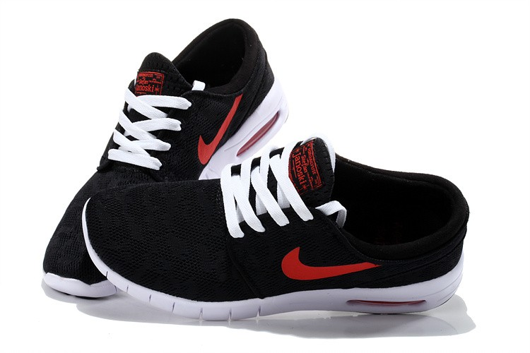 Nike SB Stefan Janoski Max EM Black Red White Sneakers