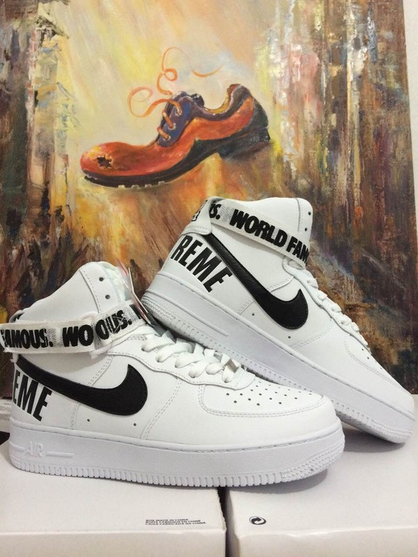Nike Air Force 1 High Supreme SP Pack White Men's and Women's Shoe