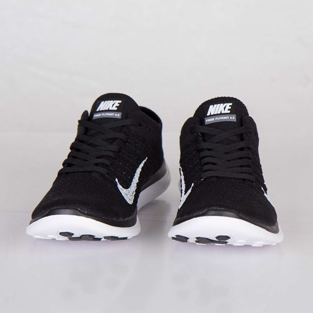 sports shoes 5ae9f 2c583 Price $64.5 Nike Free 4.0 Flyknit 631050-001 Black/White ...