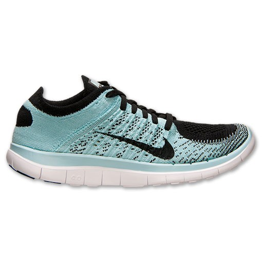 Nike WMNS Free Flyknit 4.0 631050 004 Black/Glacier Ice/White/Black Women's Running Shoe