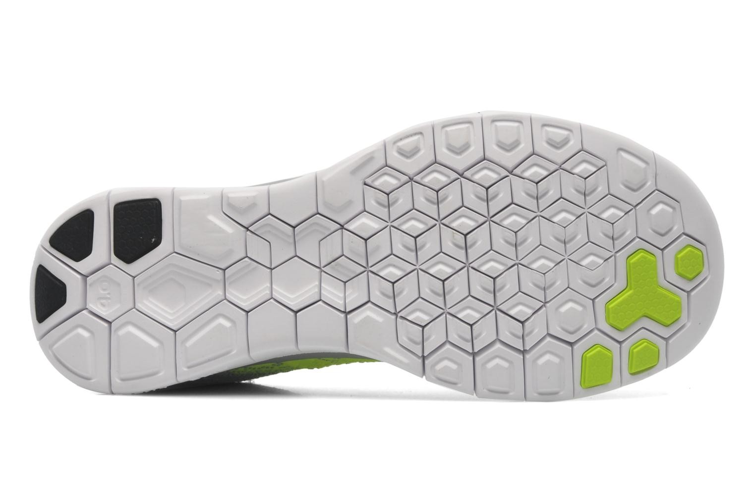 ... Nike Free 4.0 Flyknit Wolf Grey/Black-Volt-White Men\u0027s Running Shoes ...