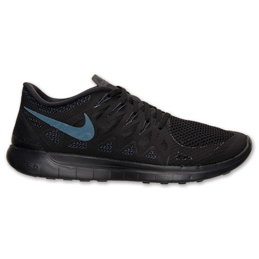 Nike Free 5.0 2014 642198 020 Black/Anthracite/Black - Men's Running Shoes