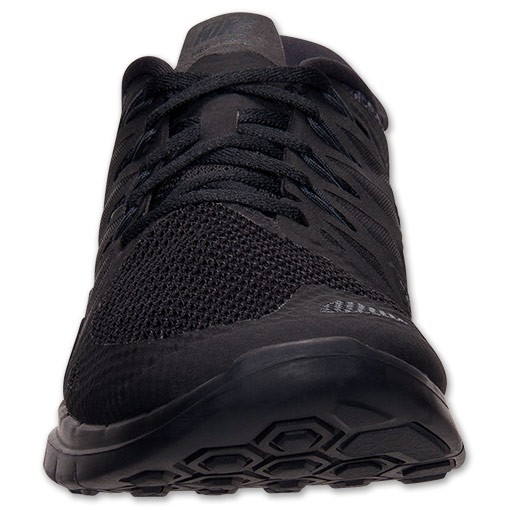 nike free run 5.0 all black mens