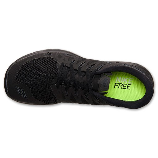 Nike Free 5.0 2014 642198 020 Black/Anthracite/Black - Men&#