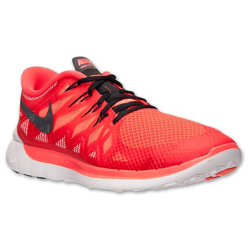 Nike Free 5.0 2014 642198 602 Bright Crimson/Black/Hot Lava - Men's Running Shoes
