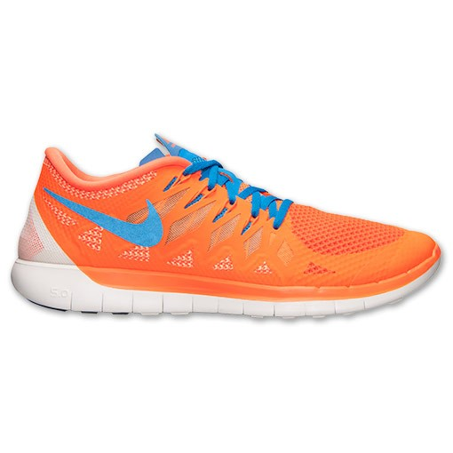 Nike Free 5.0 2014 642198 801 Hyper Crimson/Photo Blue/Bright Citrus - Men's Running Shoes