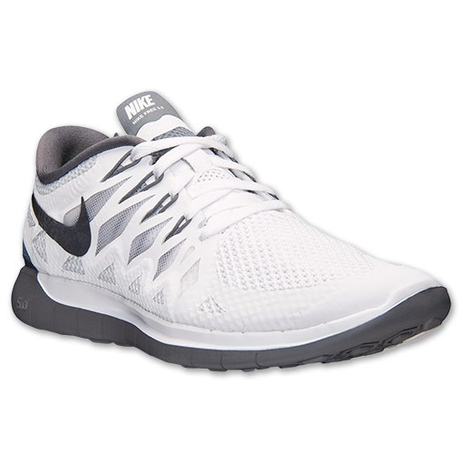 Nike WMNS Free 5.0 2014 642199 102 White/Black/Pure Platinum/Cool Grey Womens Running Shoe