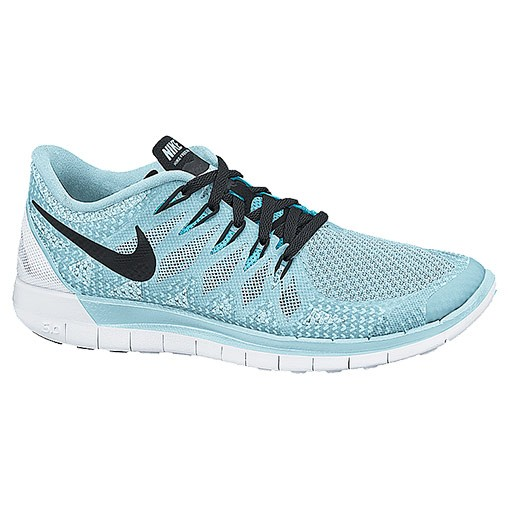 Nike WMNS Free 5.0 2014 642199 402 Ice Cube Blue/Black/Clearwater Womens Running Shoe