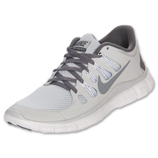 Nike WMNS Free 5.0+ 580591 001 Pure Platinum/Cool Grey/White - Women's Running Sneakers