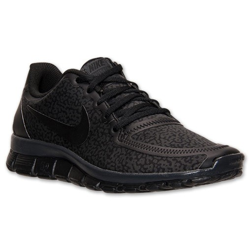 Nike WMNS Free 5.0 V4 Speckled 511281 021 Black/Anthracite - Women's Shoes