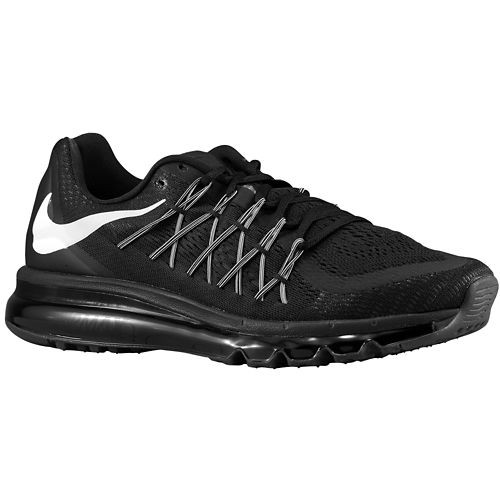 Nike Air Max 2015 698902-003 Black White Mens and Womens Running Shoes