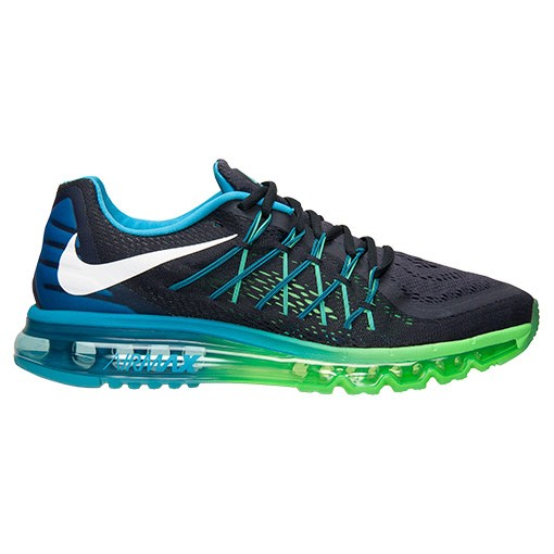 Nike Air Max 2015 698902 401 Dark Obsidian White Blue Lagoon Mens Running Shoes