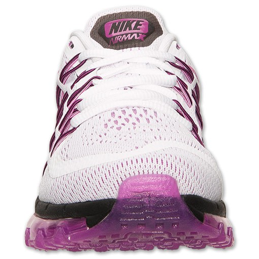 Nike WMNS Air Max 2015 698903 160 White Fuchsia Flash Black Womens Running Shoes