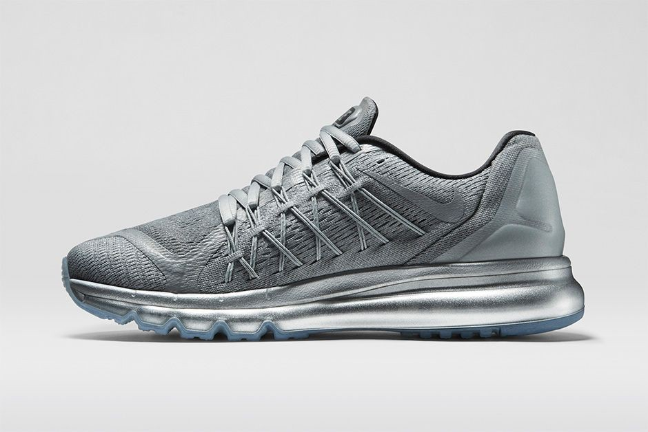 Nike Air Max 2015 Reflective 709013-001 Reflect Silver Mens and Womens Running Shoes