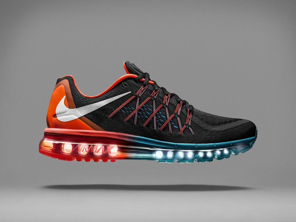 Nike Air Max 2015 Blue Blue Red Mens and Womens Running Shoes