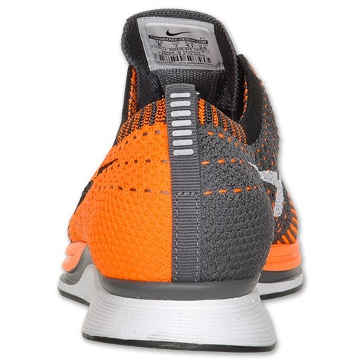 Nike Flyknit Racer 526628 810 Total Orange Men's Running Shoes