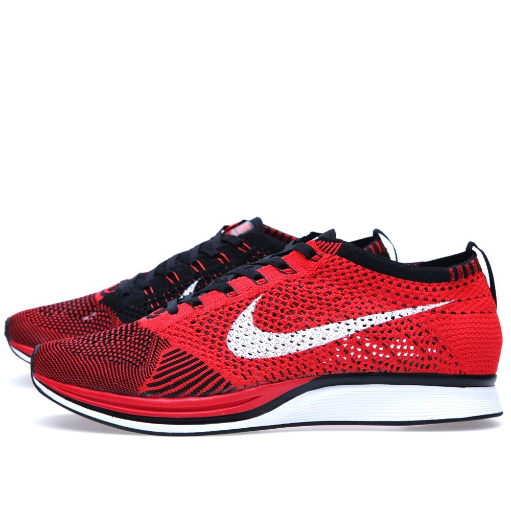 Royaume-Uni disponibilité d0424 ba5fc Price $64 Nike Flyknit Racer 526628-610 University Red/White ...