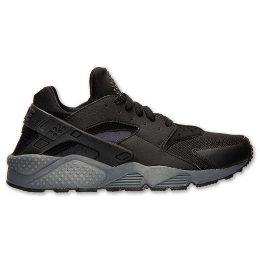 Nike Air Huarache Triple Black Restock 318429 010 Black/Dark Grey Mens Shoes