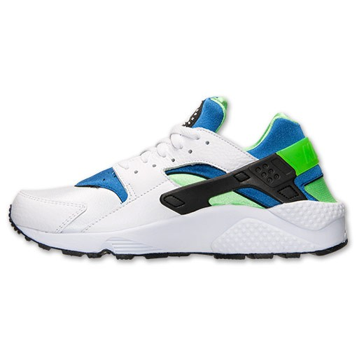 huge discount e0b0e 70136 ... clearance nike air huarache 318429 100 white scream green royal blue  mens shoes 1237f 25015