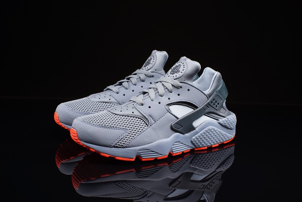 Nike Air Huarache FB Graphite/Bright Crimson Mens Shoes