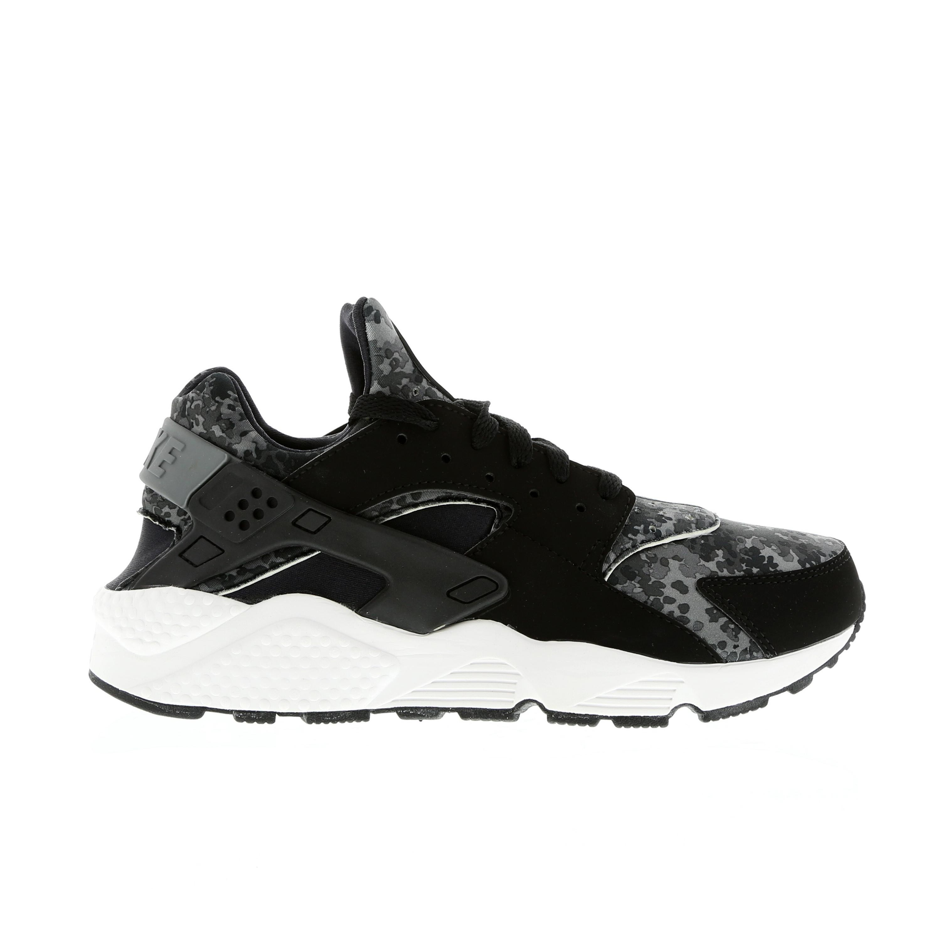 Nike Air Huarache Camo 318429-015 Black/Grey/Green Mens Shoes