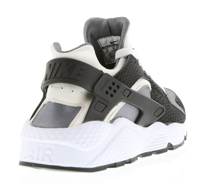 Nike Air Huarache Run Black White/Pure Platinum Mens Shoes