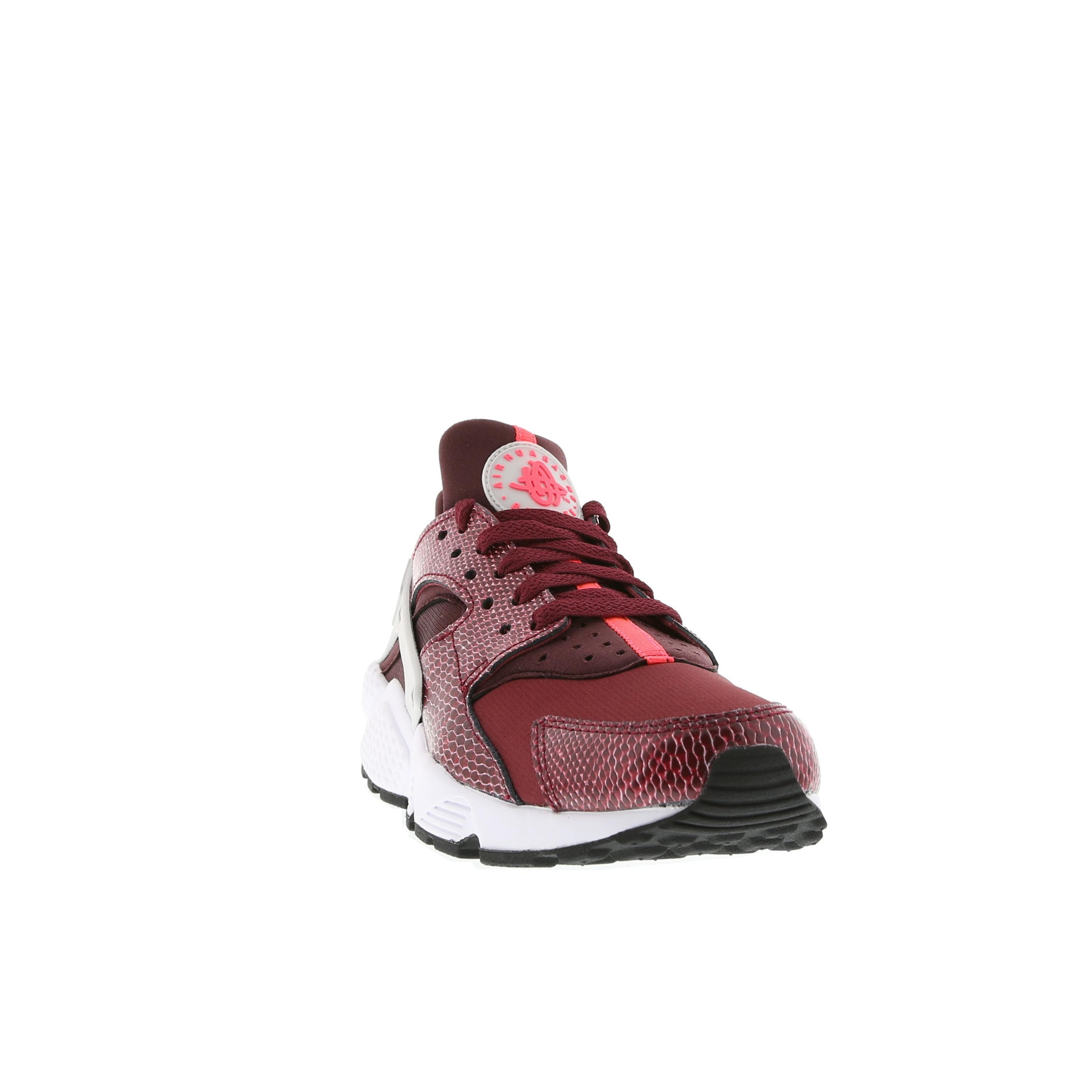 Nike WMNS Air Huarache 634835-666 Team Red/Hyper Punch/Deep Burgundy Womens Shoe