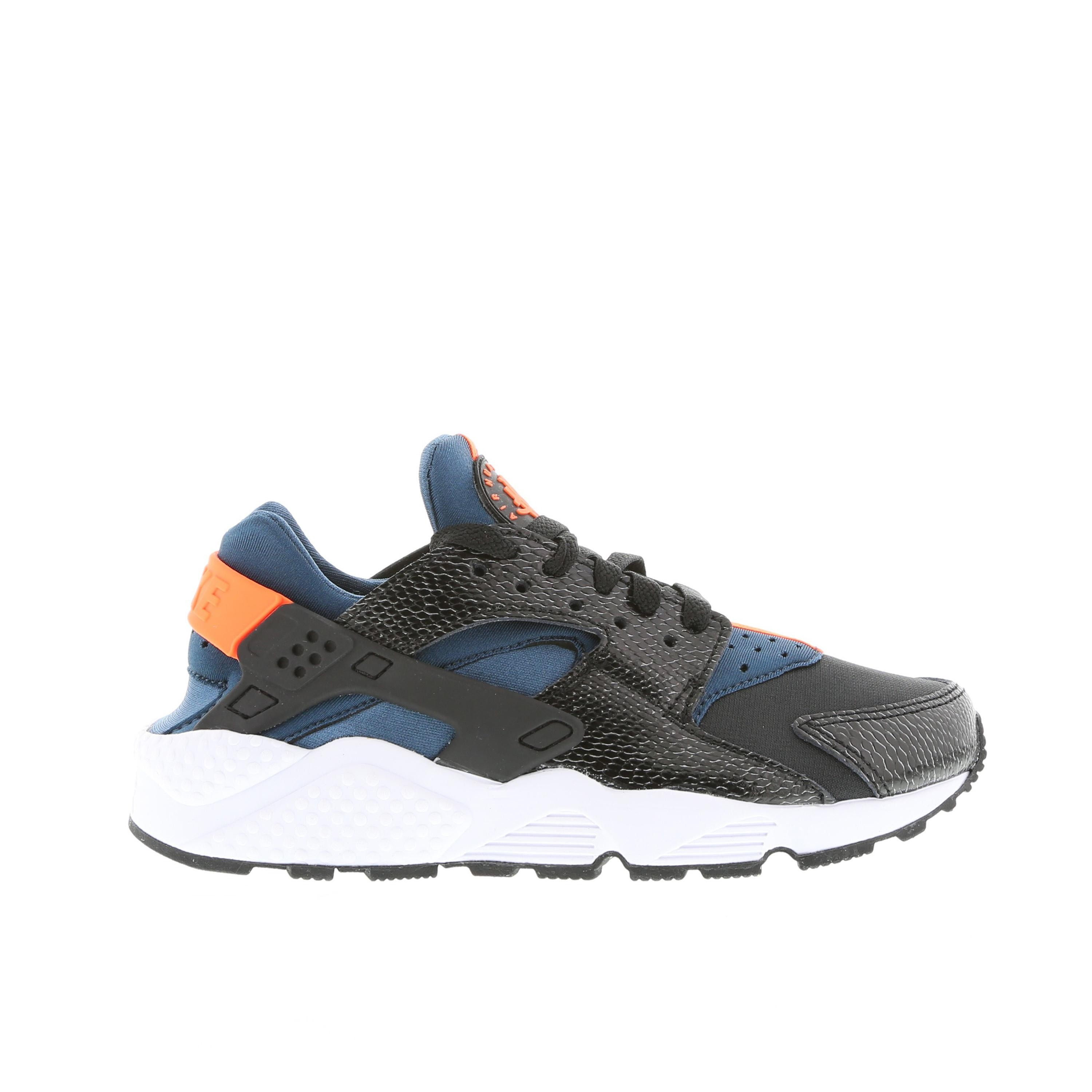 Nike WMNS Air Huarache 634835-084 Black/Hyper Crimson/Space Blue Womens Shoe