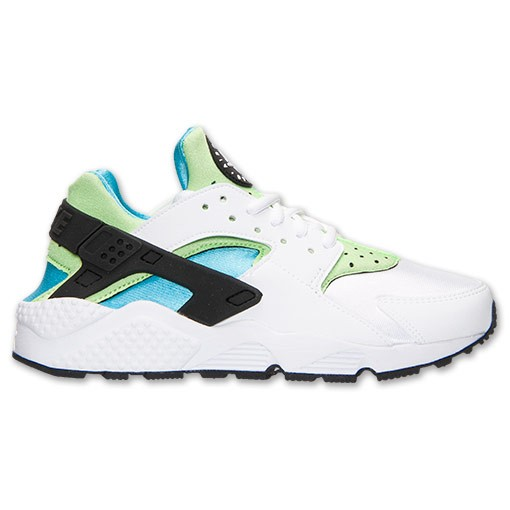Nike WMNS Air Huarache Run 634835 100 White/Clearwater/Flash Lime Womens Trainers