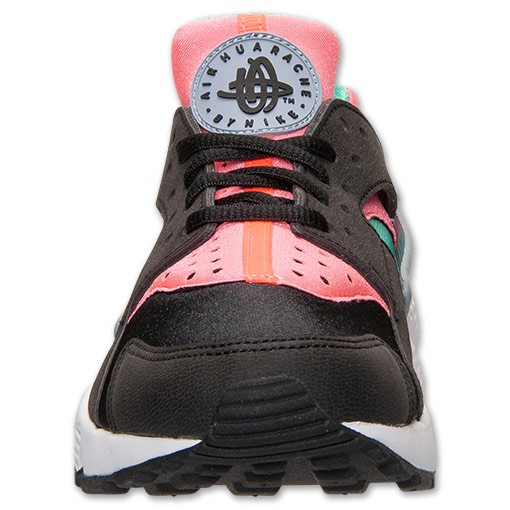 Nike WMNS Air Huarache 634835 003 Black/Menta/Hot Lava Womens Shoe