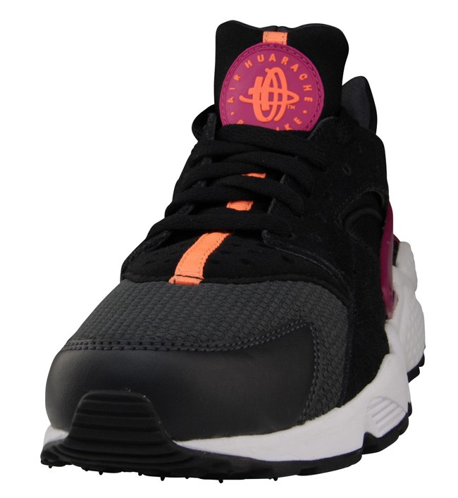 Nike WMNS Air Huarache Raspberry Red Black Vibrant Orange White Womens Shoe