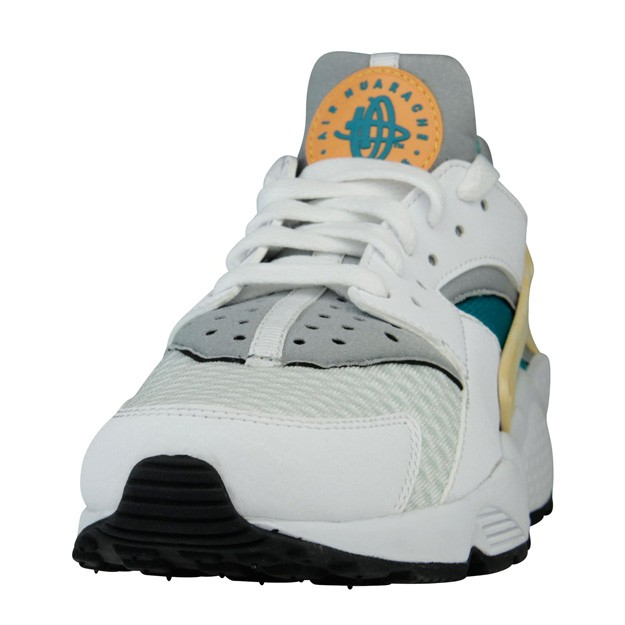 Nike WMNS Air Huarache White/Atomic Orange/Hyper Jade Womens Shoe