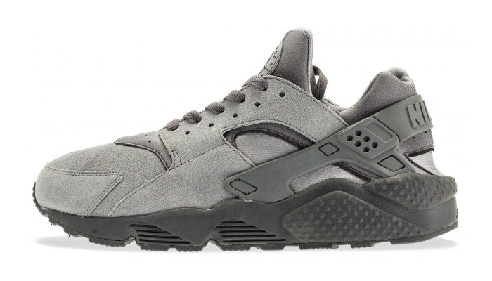 Nike WMNS Air Huarache Suede Cool Grey/Anthracite-Black Womens Trainers
