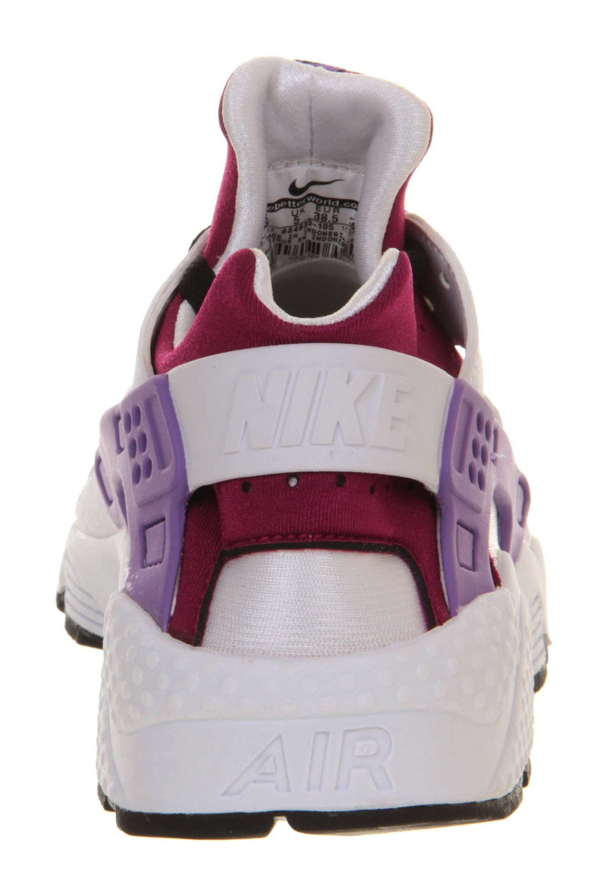 Nike WMNS Air Huarache 634835 105 White/Black-Bright Magenta Womens Trainers