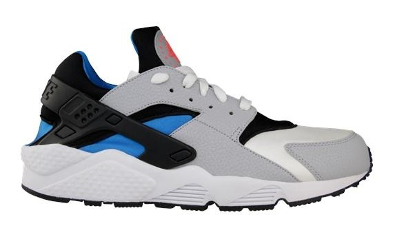 Nike Air Huarache LE White/Wolf Grey-Blue Hero Men's Shoe