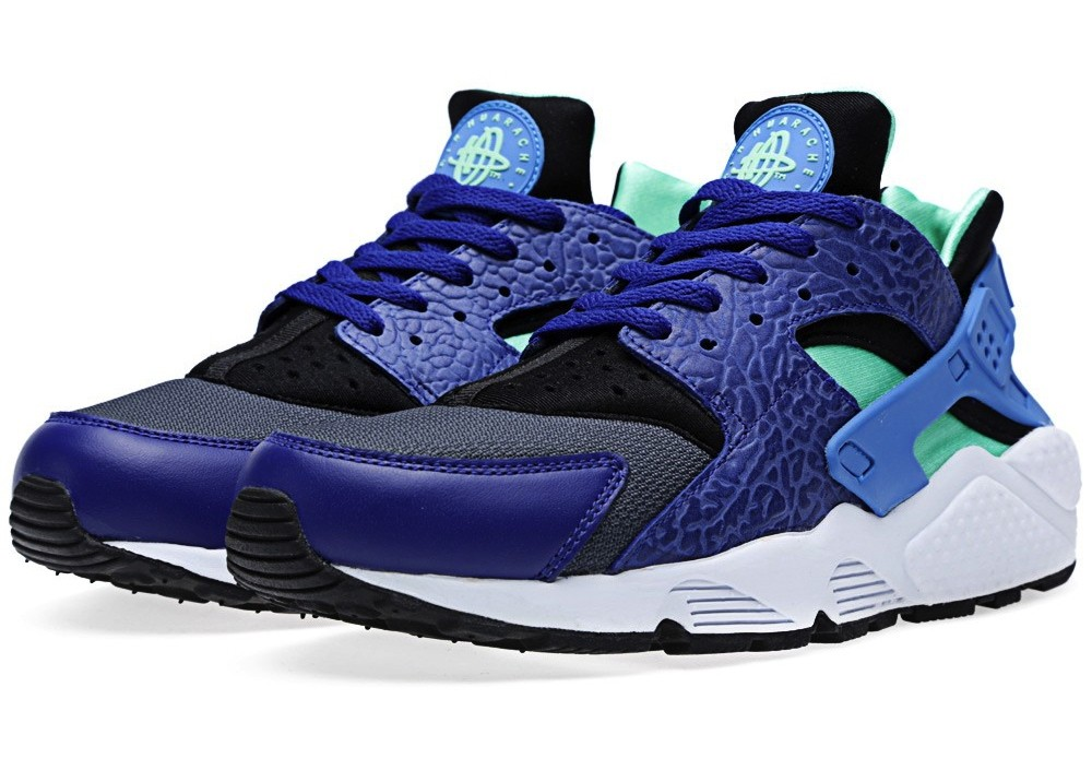 Nike Air Huarache OG Elephant 318429-443 Deep Royal Blue/Blue Hero Men's Shoe