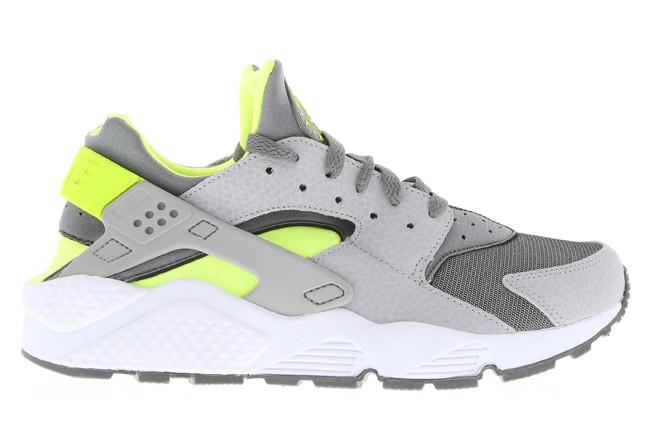Nike WMNS Air Huarache Grey Volt Womens Running Shoes